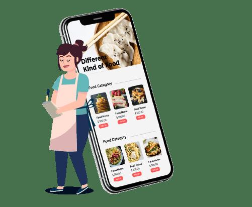 Aplikacja dla restauracji 2