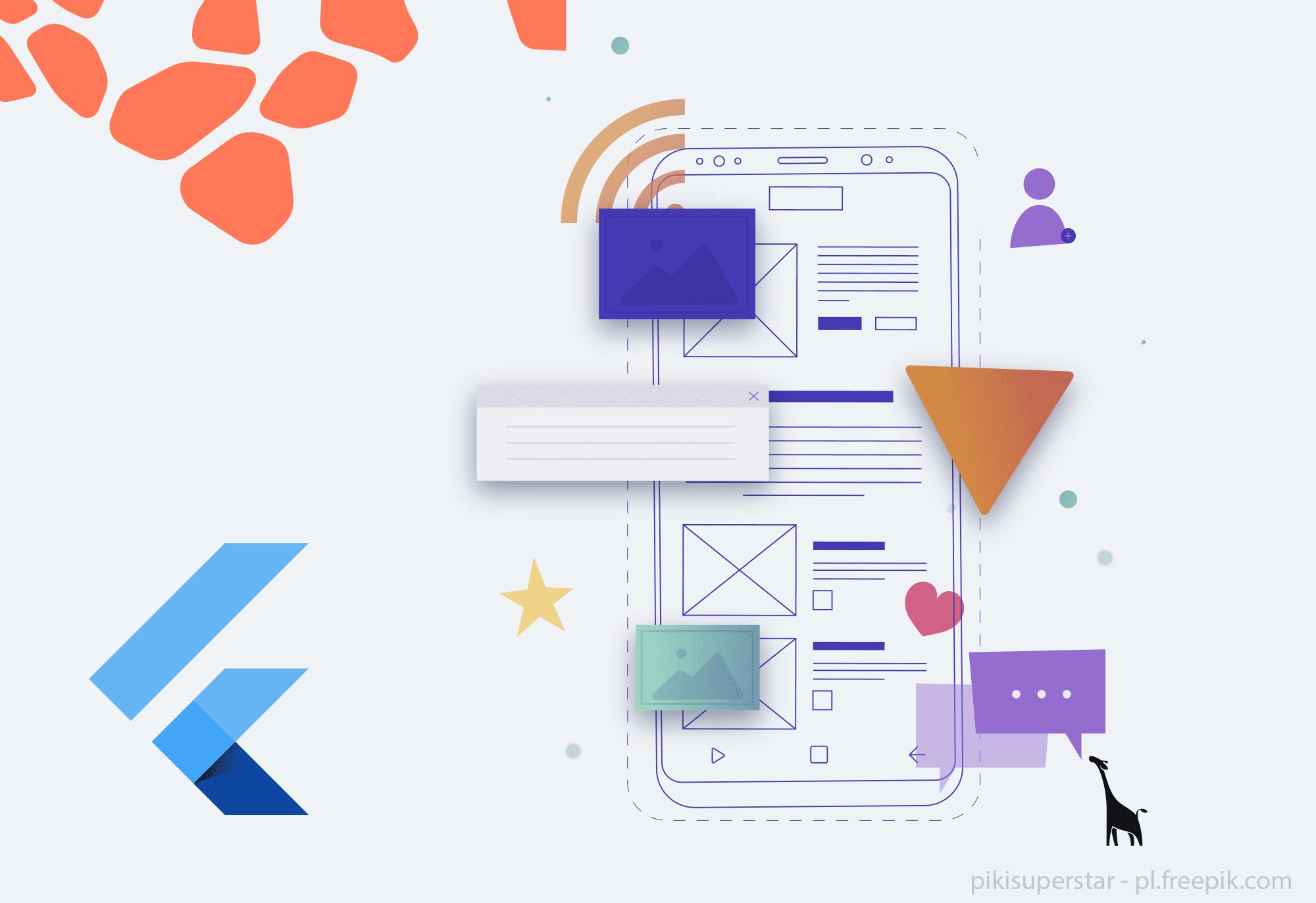 Flutter jako narzędzie dotworzenia aplikacji mobilnych